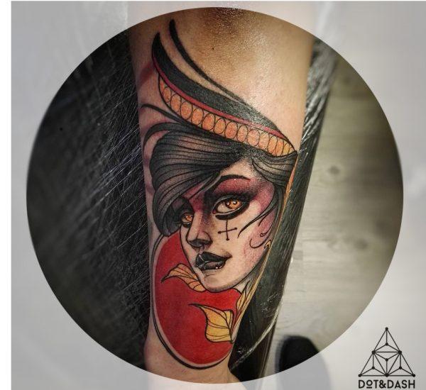 tatuaggio di Cristiano Viola